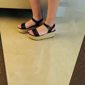 13b0b1d60 Steve Madden Shoes - Steve Madden Busy Espadrille Wedge Sandals